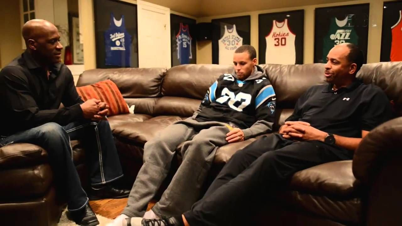 Steph & Dell Curry Like father like son E 60 Extra