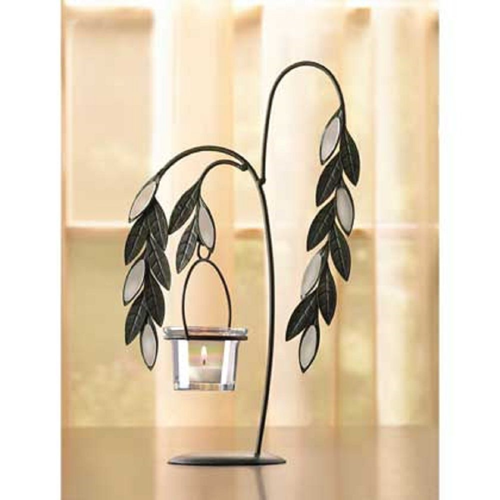 weeping willow tealight candle holder wedding centerpieces new