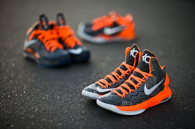 premium selection 04ca6 57046 Nike LeBron X, KD V & Kobe 8: Black History Month 2013 ...