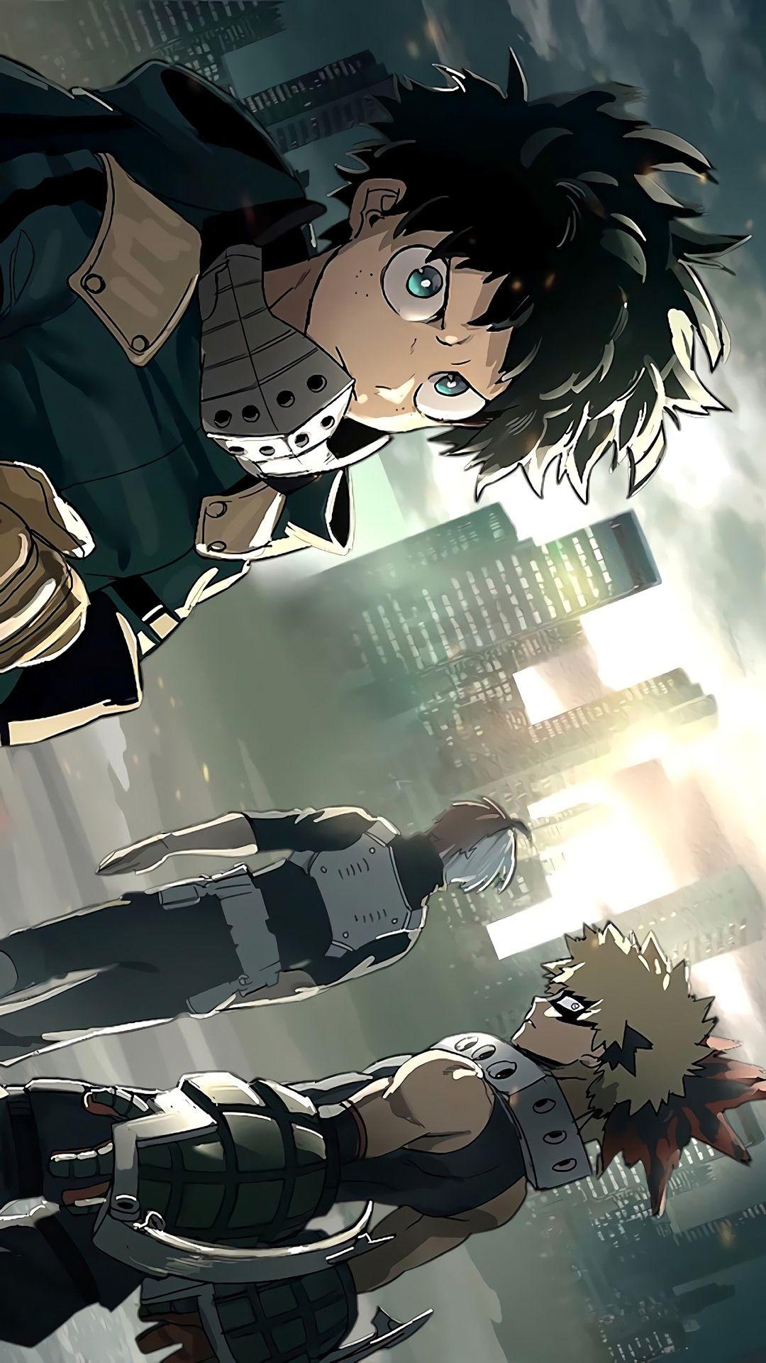 Izuku Midoriya Hero Wallpaper My Hero Academia Episodes My Hero