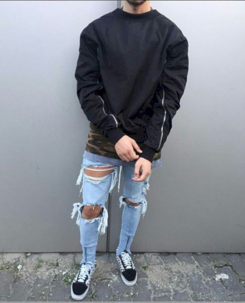 fddd1463b57e 46 Stylish Ripped Jeans for Men - attirepin.com. Royal Fashionsit is the  best Men's Fashion Guide.