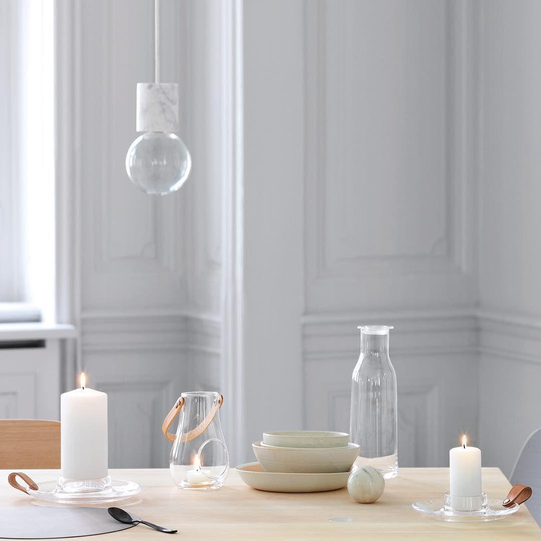 NORDIC STYLE interior inspiration via holmegaard design modern glass accessories madeindenmark holmegaard providehome via provide home- nordic, design, inspo