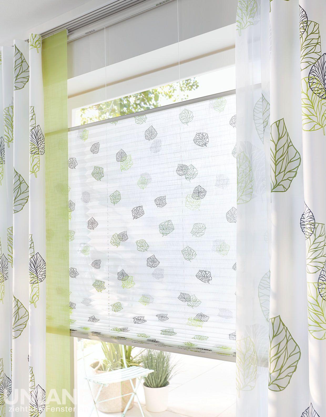 Unland Avik Greenery 006 Vorhang Fensterideen Gardinen