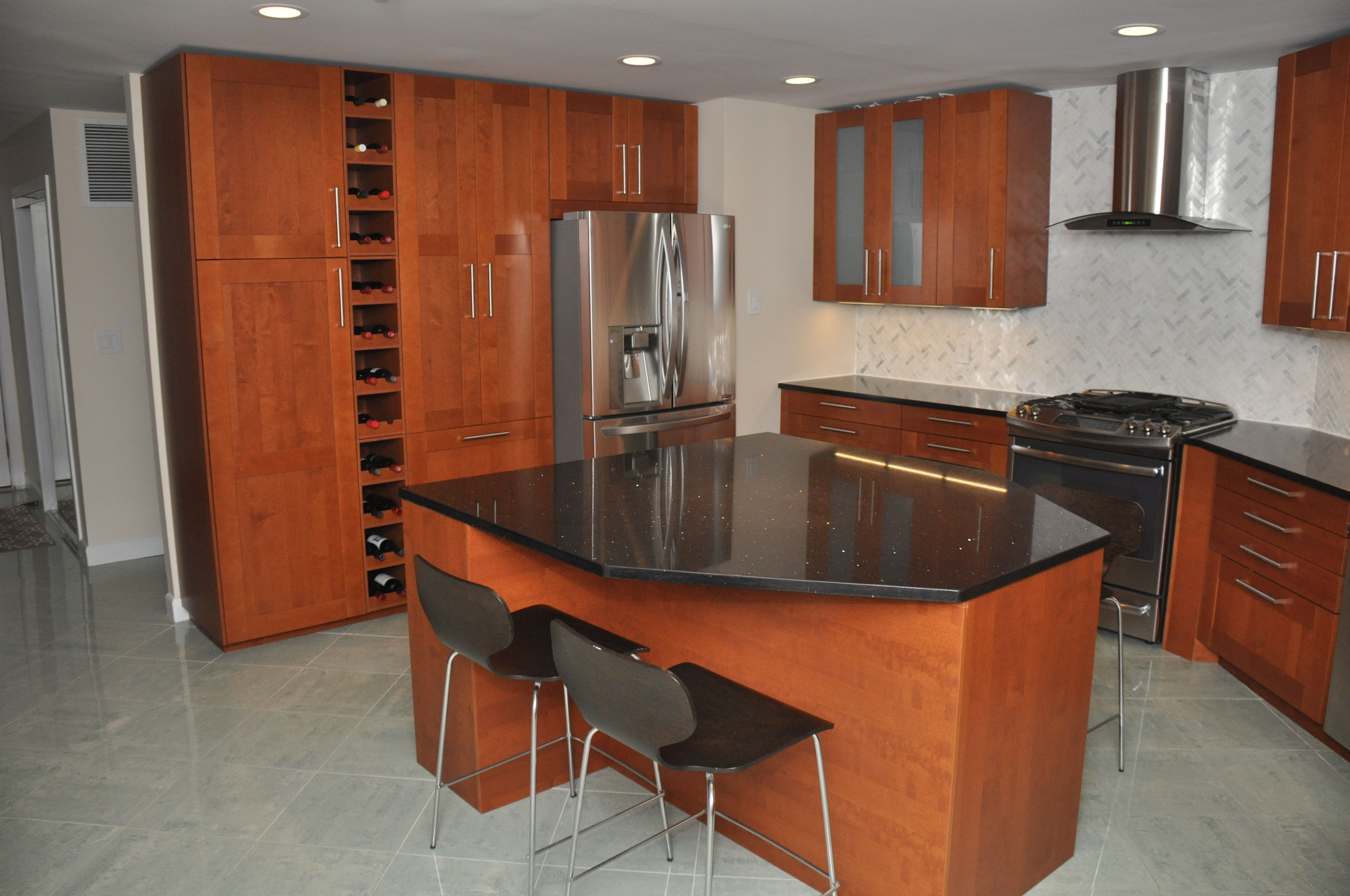 Best This Ikea Kitchen Has Grimslöv Doors In Medium Brown We 640 x 480