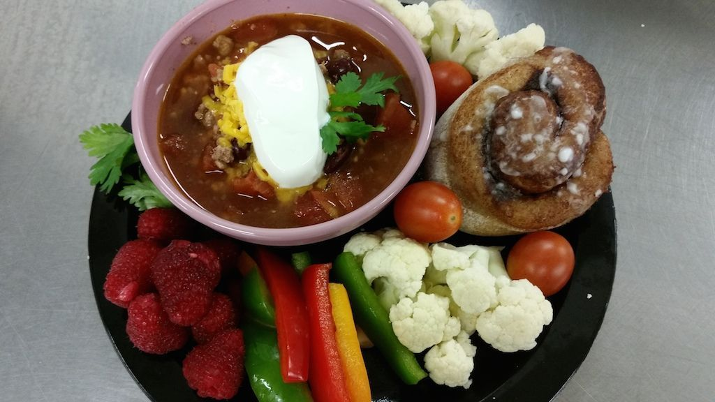 Chili and Cinnamon Roll from Poudre School District Child Nutrition Department #childnutrition Chili and Cinnamon Roll from Poudre School District Child Nutrition Department #childnutrition Chili and Cinnamon Roll from Poudre School District Child Nutrition Department #childnutrition Chili and Cinnamon Roll from Poudre School District Child Nutrition Department #childnutrition