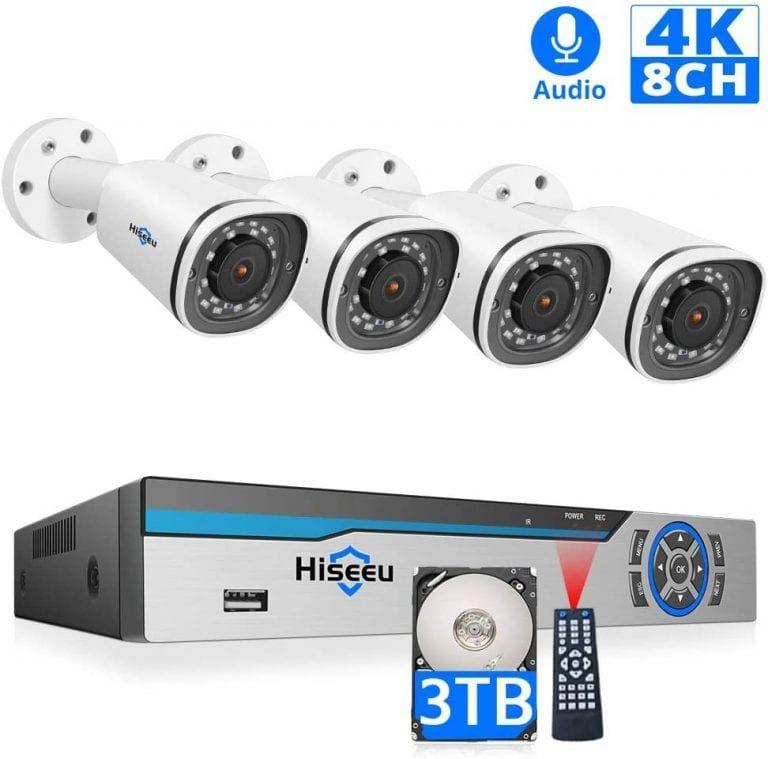 Top Ten Best 4k Security Cameras In 2020 Alltoptenreviews Security Camera Security Camera System Camera
