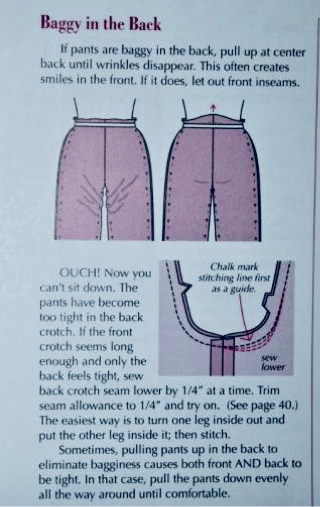 Photo of fertige Hose passend machen