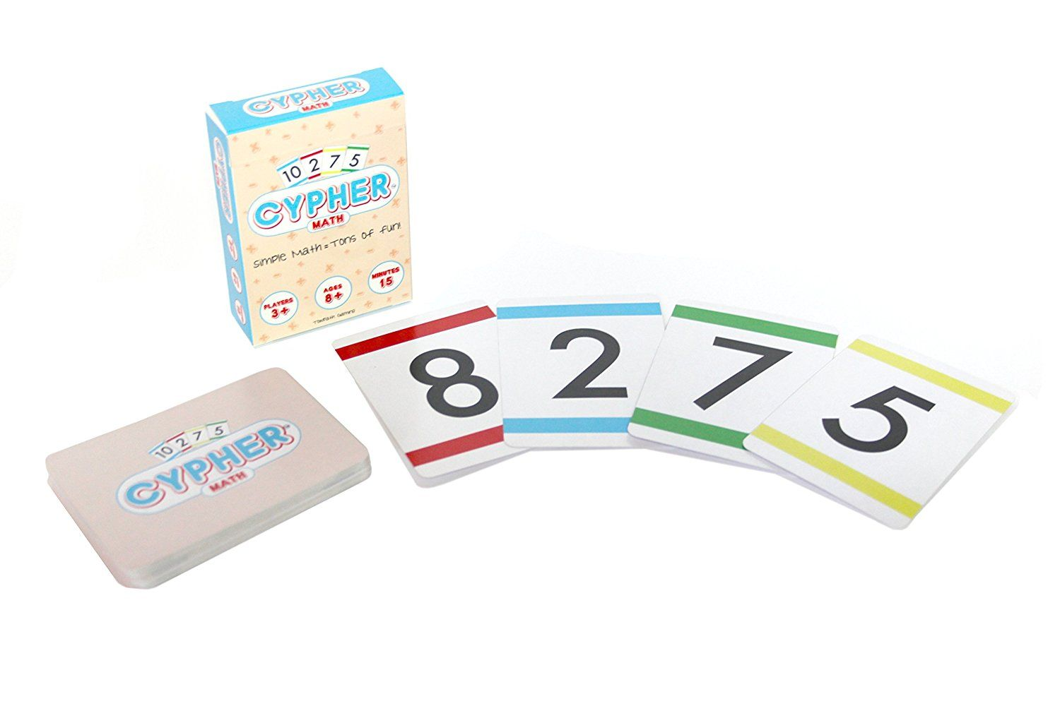 Cypher Innovative Math Learning Card Game