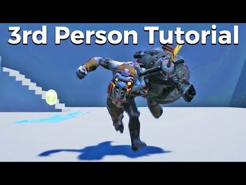Pin by jesse nance on 3d references pinterest unreal engine lets create a person character with animations blueprints unreal engine 4 tutorial malvernweather Choice Image