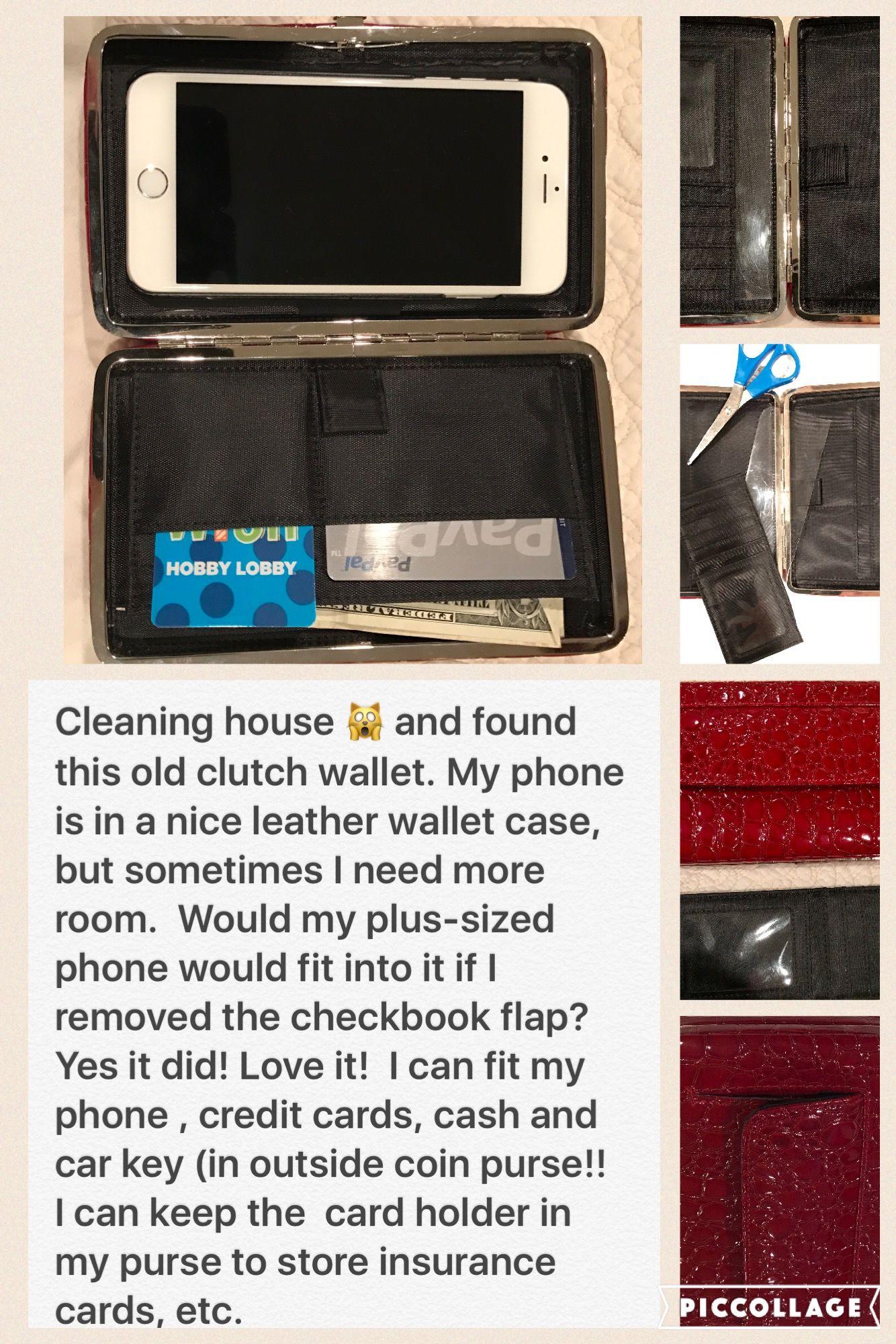 Diy Phone Case Wallet Easy Repurpose Recycle Old Framed Clutch Diy Phone Diy Phone Case Wallet Phone Case