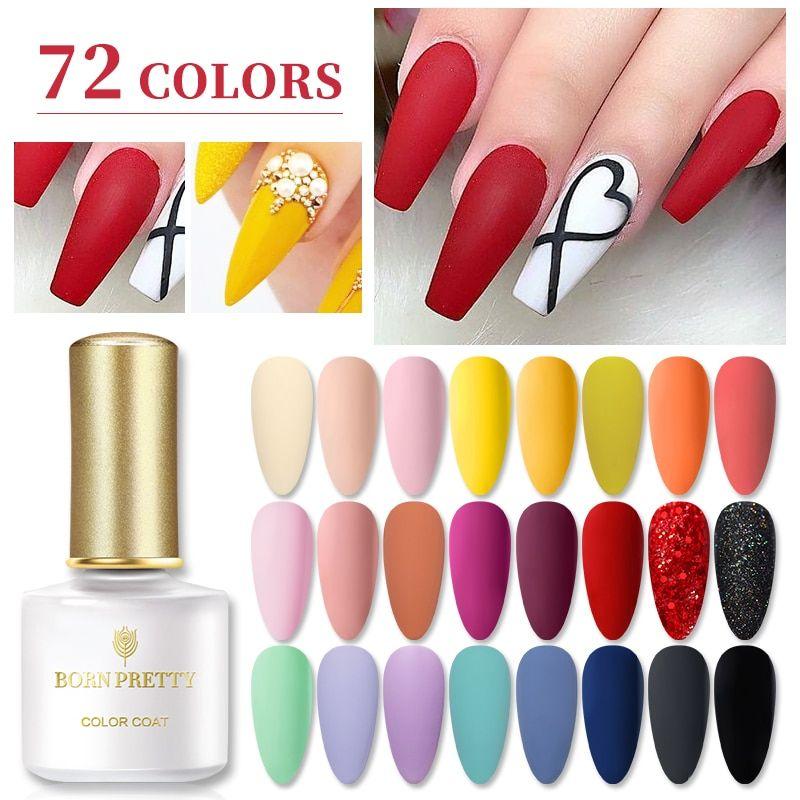 Born Pretty Gel Nail Polish 6ml In 2020 Pretty Gel Nails Gel Polish Gel Nails