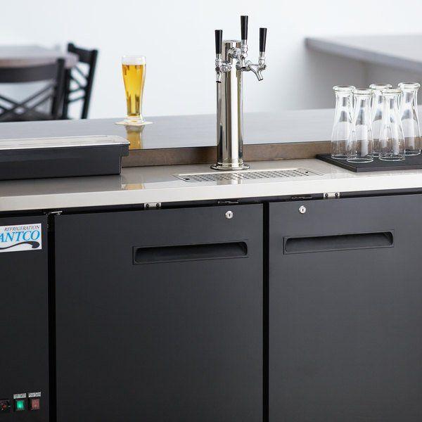 Avantco Udd 2 Hc Triple Tap Kegerator Beer In 2020 Beer Solid
