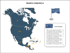 get attractive and variable designs of power point maps of usa with