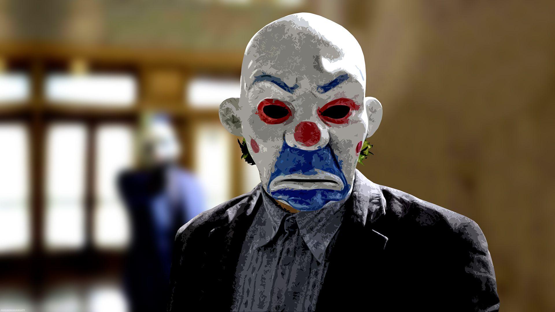 Joker Bank Robber Mask