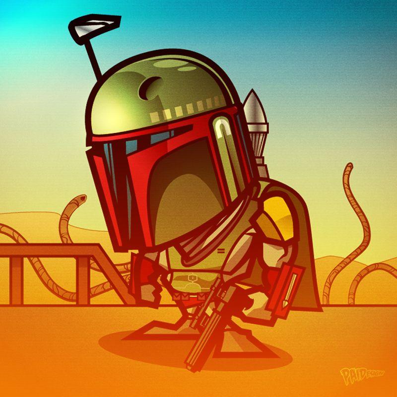 Boba Fett by Paul Ainsworth Star wars, Star wars rebels