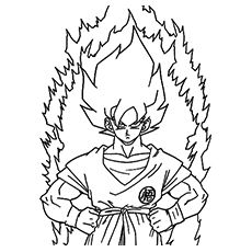top 20 free printable dragon ball z coloring pages online goku