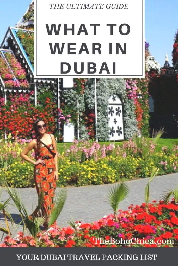 What To Wear in Dubai: The Only Dubai Packing List You'll Need. I'm a Dubai local who wants to help you pack better and dress nice on your Dubai holiday.  Dubai Packing List/ What to wear in Dubai