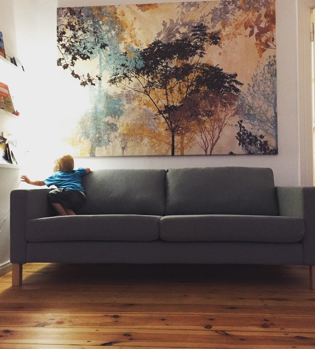 Ich liebe diese neue Couch! Ein schönes Grau das nun das ...