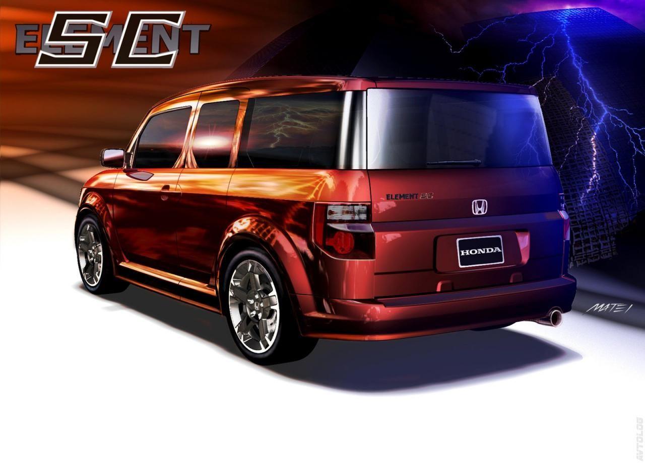 2007 Honda Element Sc Honda Element Honda Concept Cars