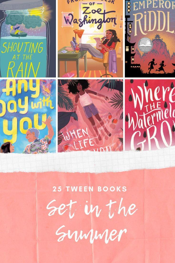 25 middlegrade books set in the summer summer reading