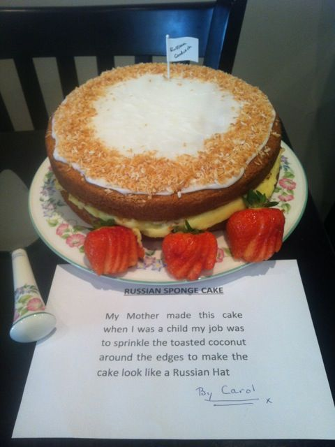 Russian sandwich cake | CLANDESTINE CAKE CLUB