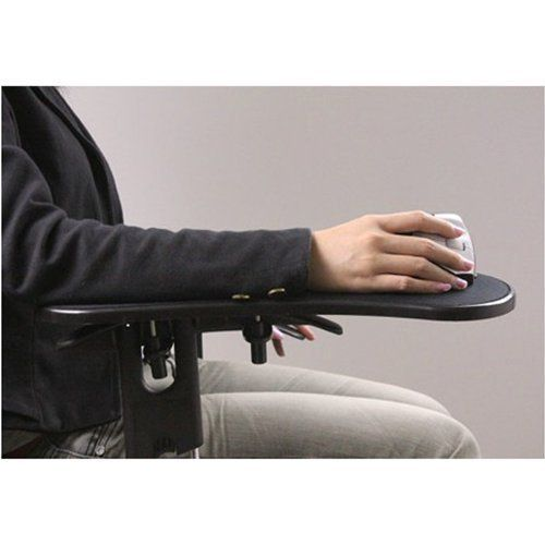 Robot Check Adjustable Computer Desk Wrist Rest Mouse Pad