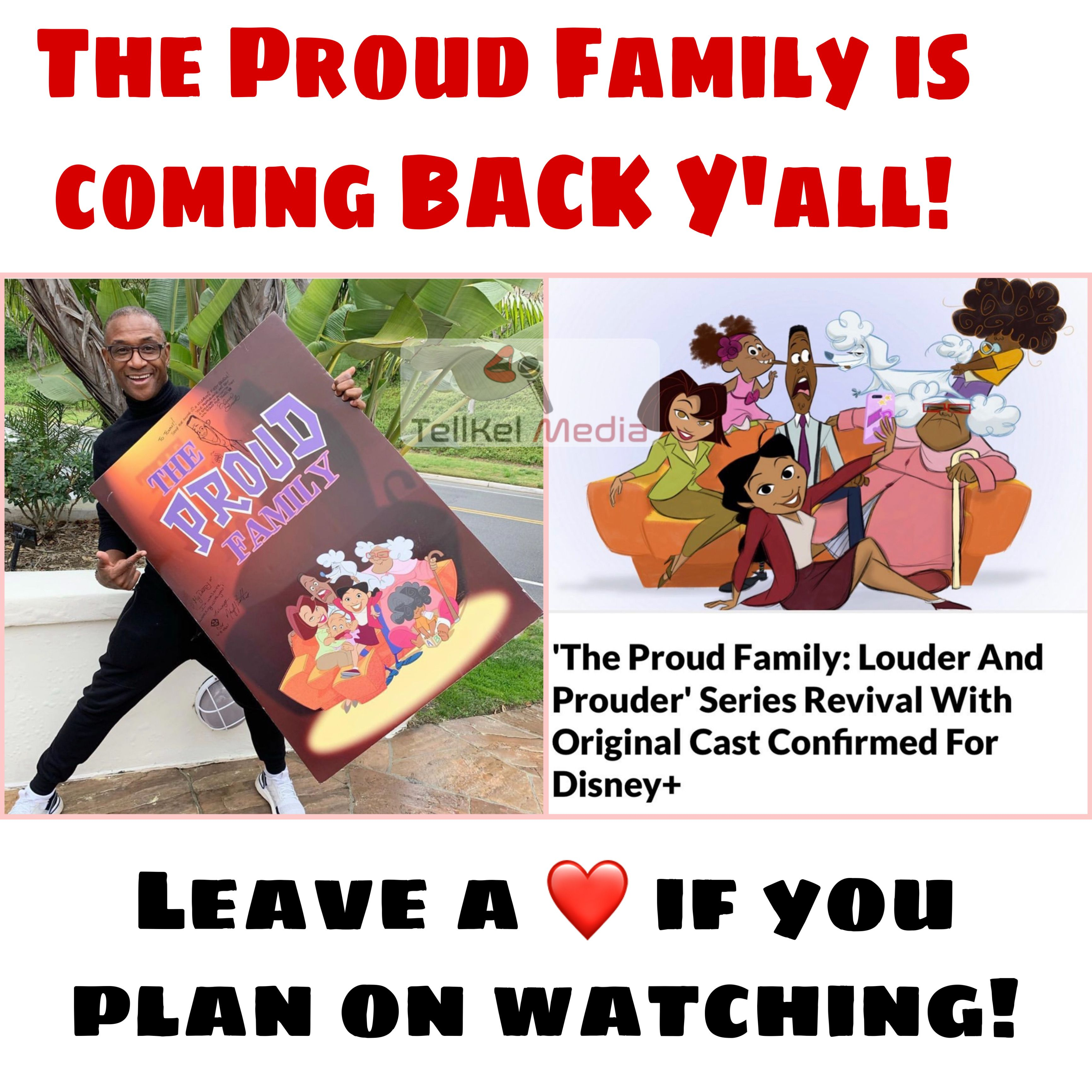 Welcome Back Proud Family The Proud Family Disney Plus It Cast