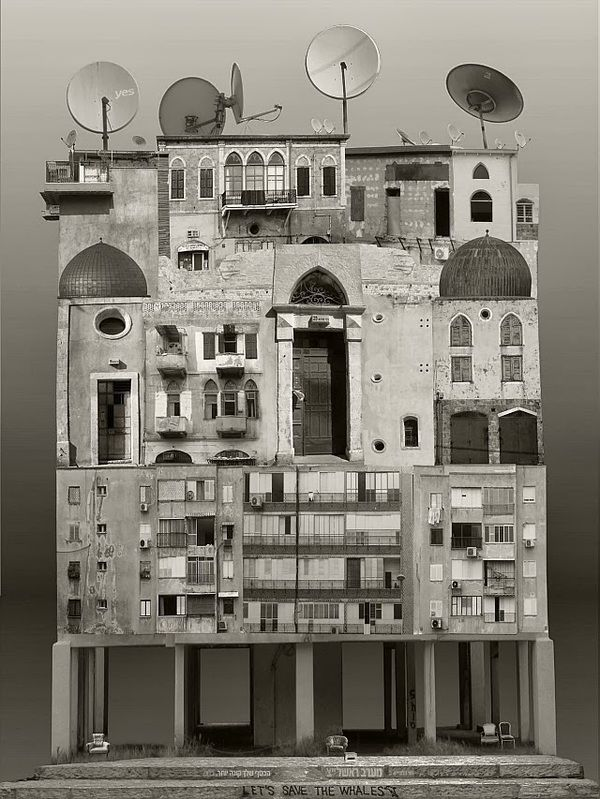 how to make architectural collages
