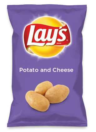 Wouldn't Potato and Cheese be yummy as a chip? Lay's Do Us A Flavor is back, and the search is on for the yummiest chip idea. Create one using your favorite flavors from around the country and you could win $1 million! https://www.dousaflavor.com See Rules.