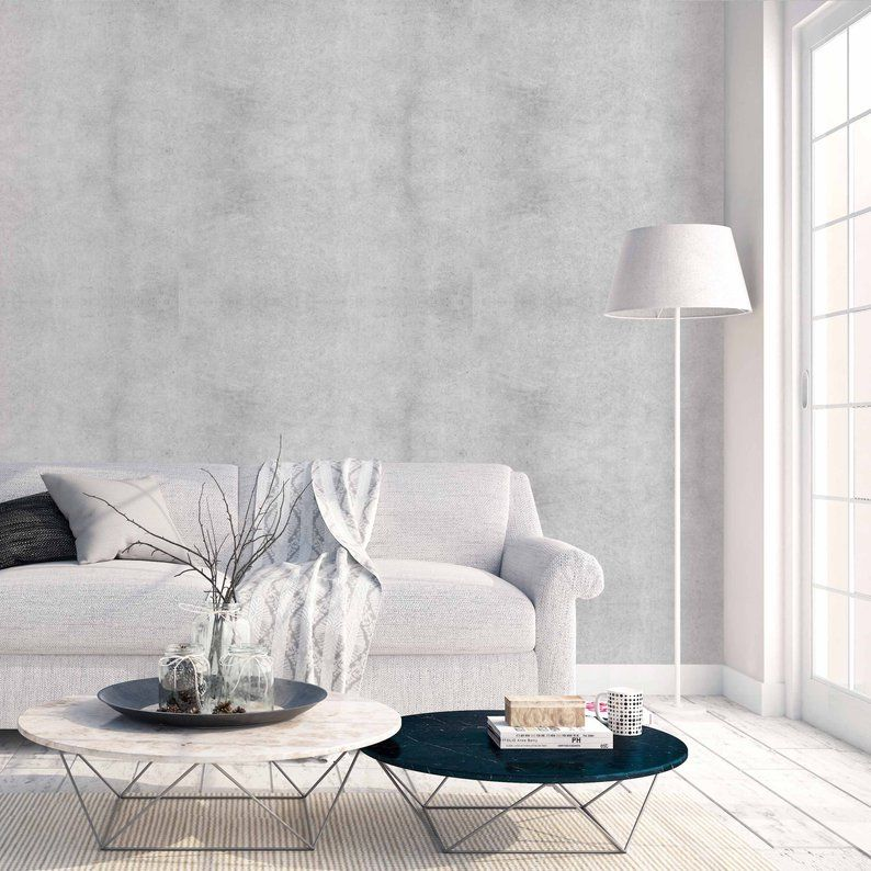 This Item Is Unavailable Etsy Living Room Decor Concrete Wallpaper Inside Home