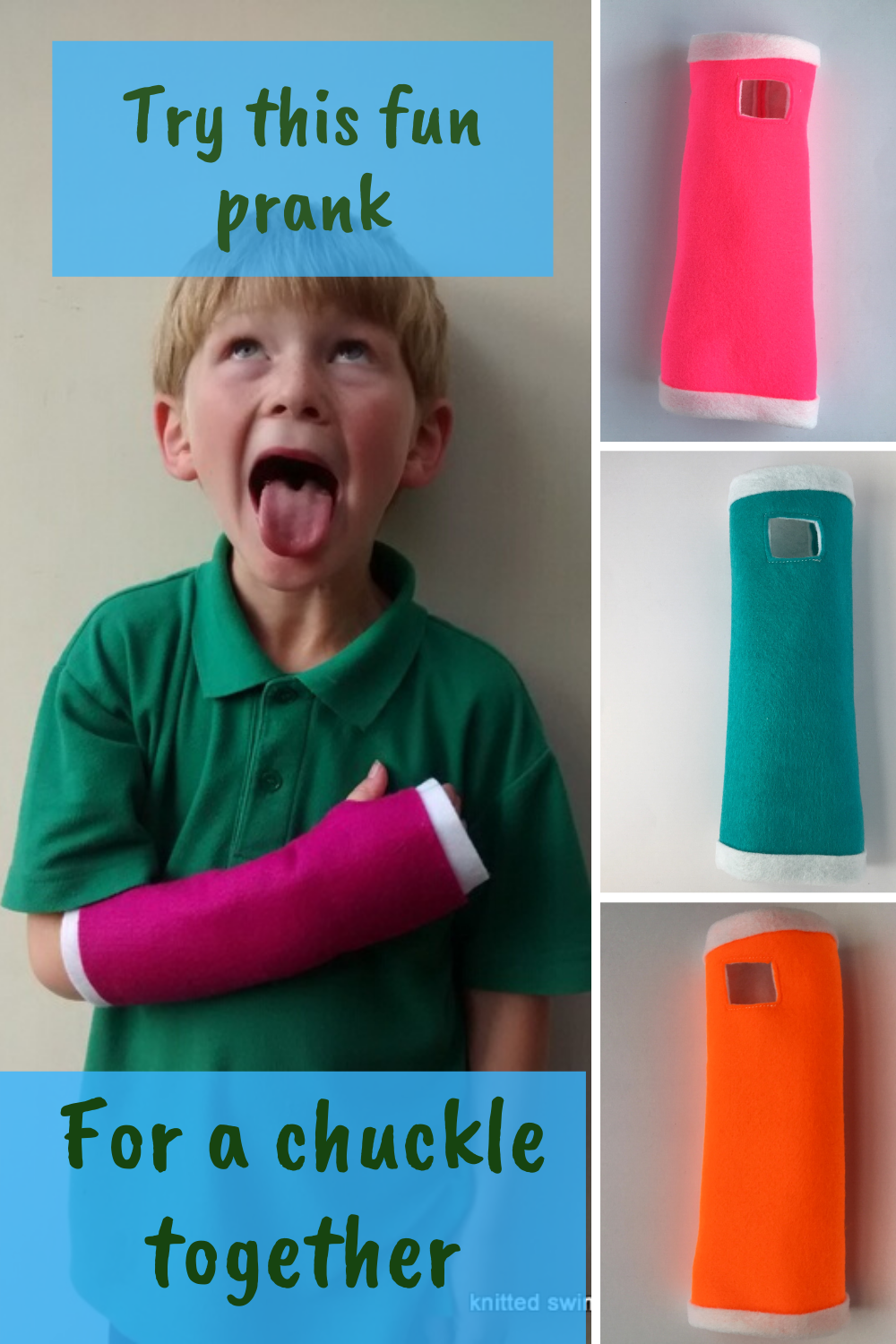 How To Fake A Broken Arm And Get A Cast