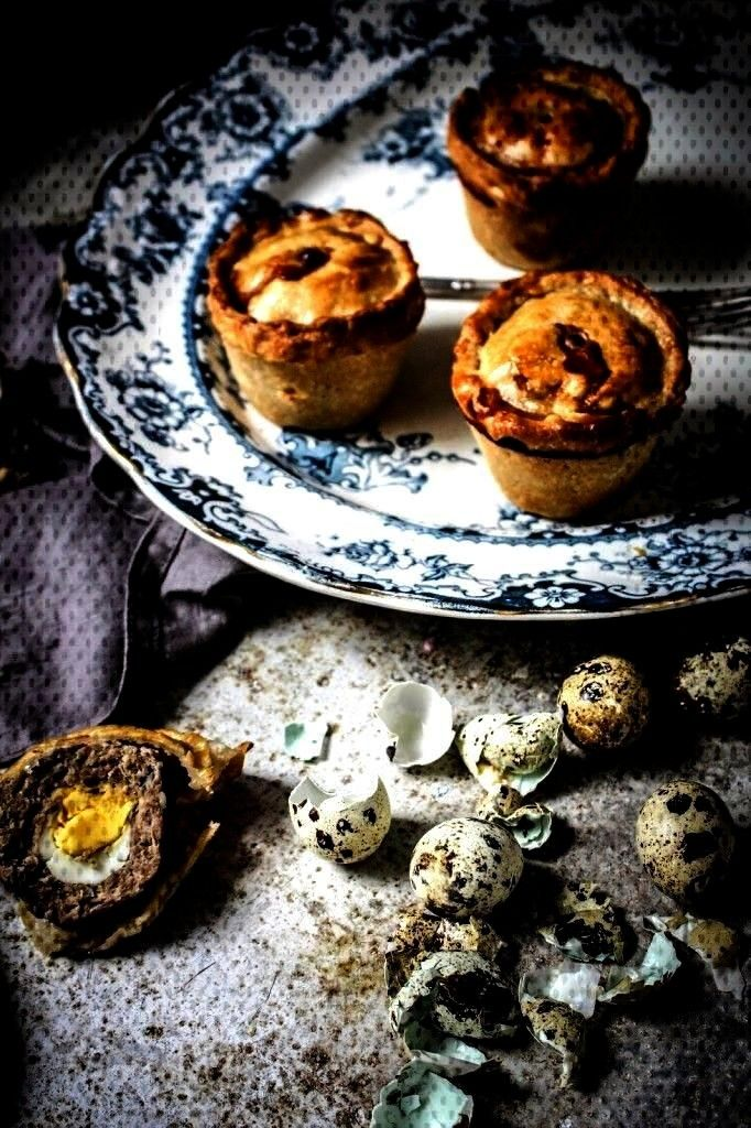 pies with quails eggs - twigg studios        Pork PiesYou can find Quails and more on our website.p