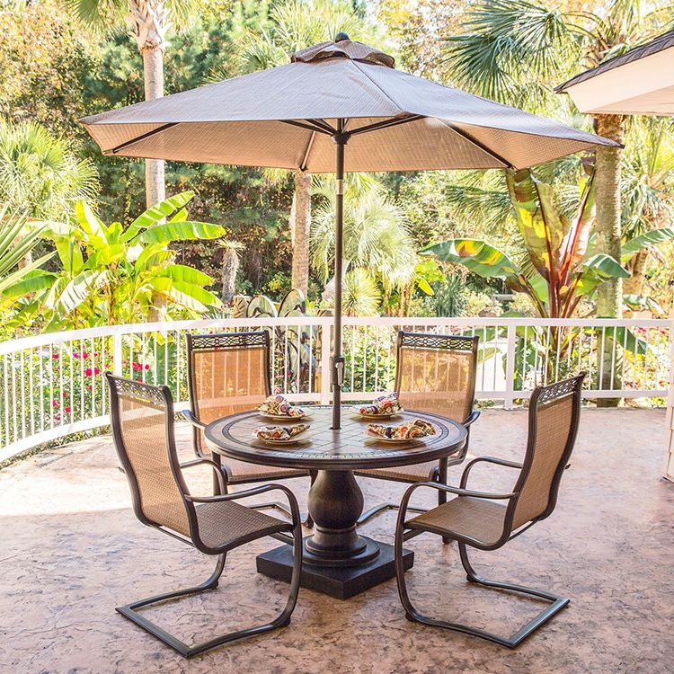 Monaco Five Piece Outdoor Dining Set