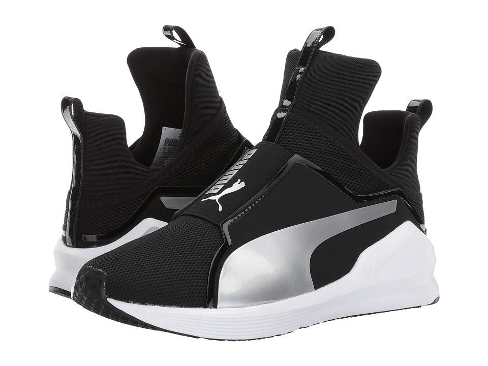 1fd2be99bb4fb8 PUMA PUMA - FIERCE CORE (PUMA BLACK PUMA SILVER) WOMEN S SHOES.  puma  shoes