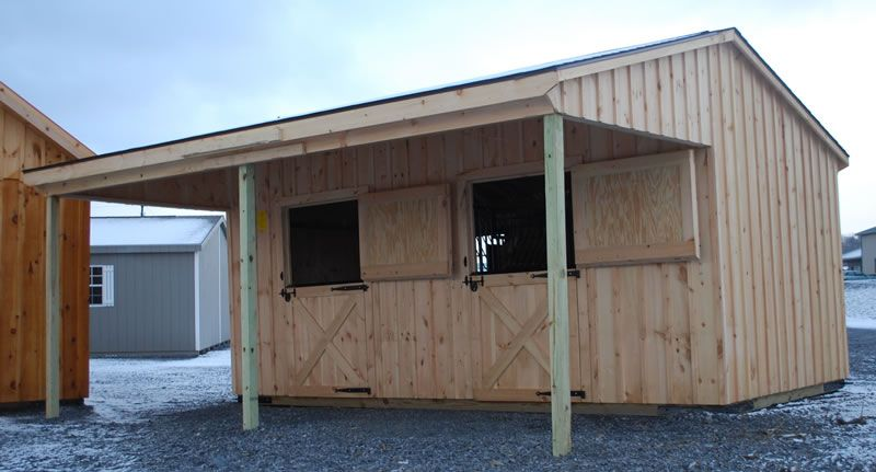 Two stall horse barn google search barns pinterest for 2 stall horse barn