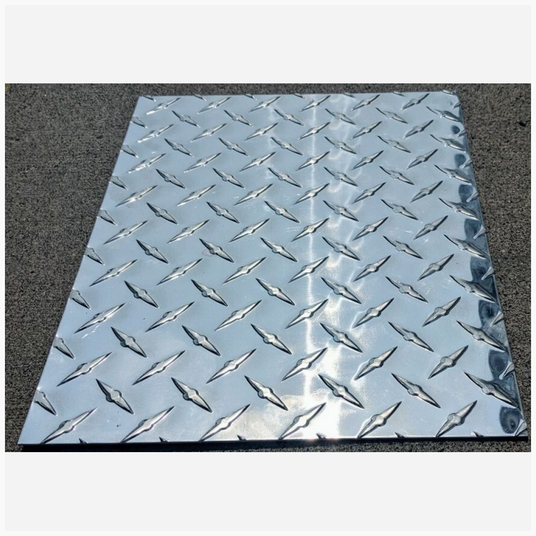 Aluminum Diamond Plate Sheet 0 125 24 X 48 3003 H 22 Diamond Plate Vinyl Sheets Carbon Fiber Vinyl