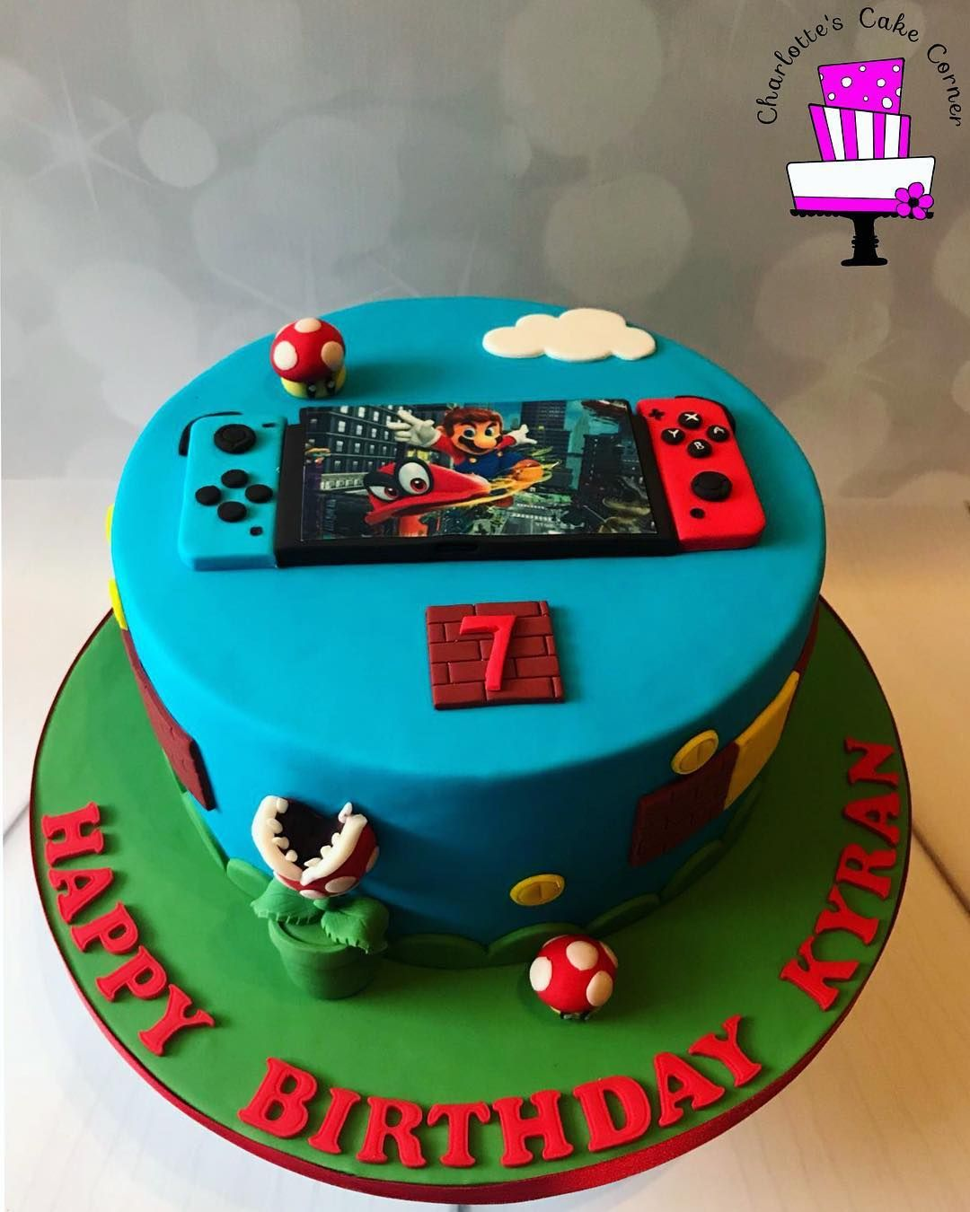 Cool Nintendo Switch Cake Google Search Mario Birthday Cake Funny Birthday Cards Online Alyptdamsfinfo