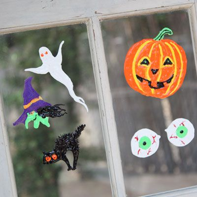 Haunted Halloween Window Clings Halloween Pinterest Halloween - halloween window clings