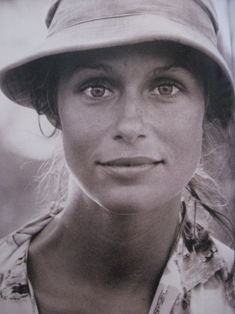 Lauren Hutton, from the book Influence by MK + Ashley Olsen
