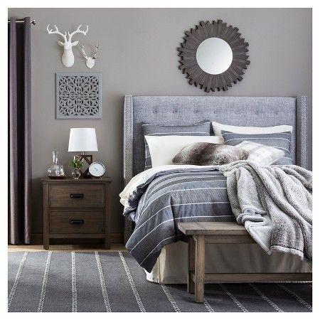 Modern Rustic Bedroom Collection  Target  Master Bedroom Prepossessing Rustic Bedroom Sets Inspiration Design