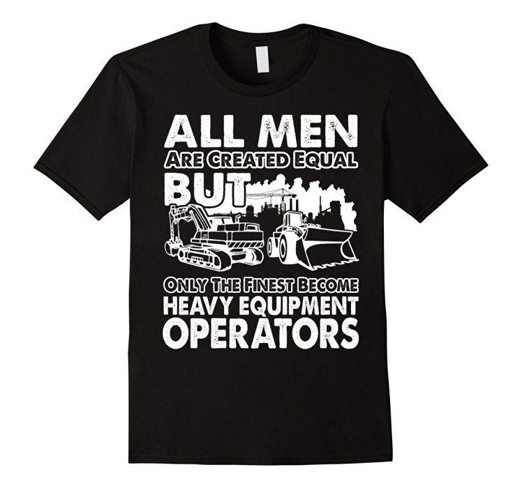 Heavy Equipment Operator Flag Gildan Hoodie Sweatshirt