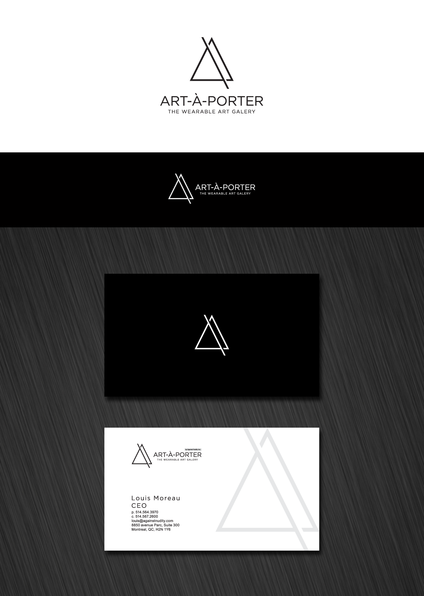 Simply modern logo by Itzzzo. http://99designs.com/users/372581 ...