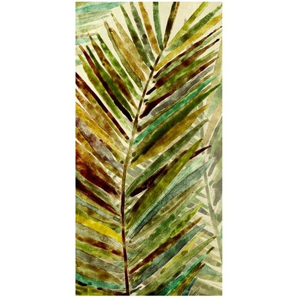 Watercolor Palms II Outdoor Wall Art ($169) ❤ liked on Polyvore ...