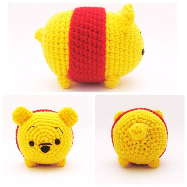 Winnie the Pooh Tsum Tsum | Niñas | Pinterest | Patrones amigurumi ...