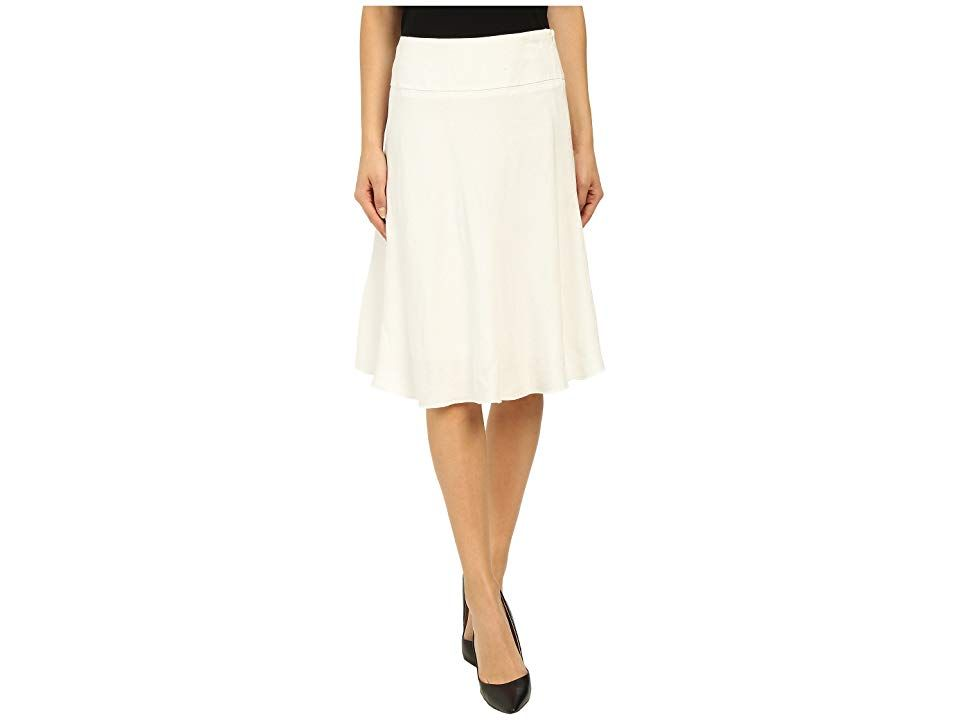 NICZOE Summer Fling Skirt Paper White Womens Skirt Transition easily from the office to happy hour in this feminine NICZOE skirt Aline skirt fabricated from a breezy stre...