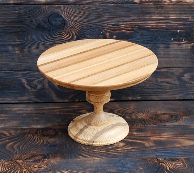 Wooden Cake Stand Stand Covered Multilayer Oil Impregnation