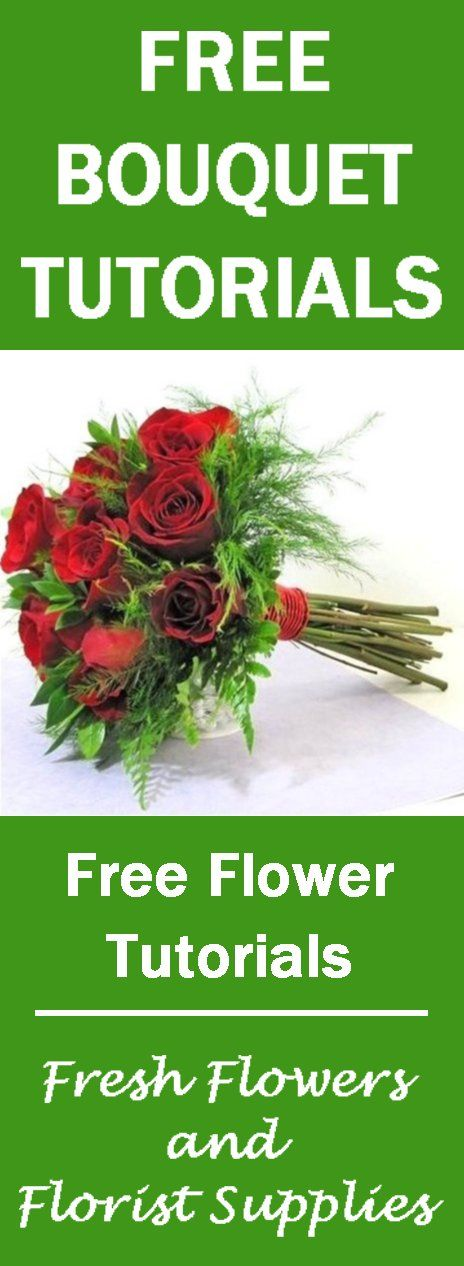 Hand Tied Bridal Bouquets Easy Rose Bouquet Tutorial Learn How To Make