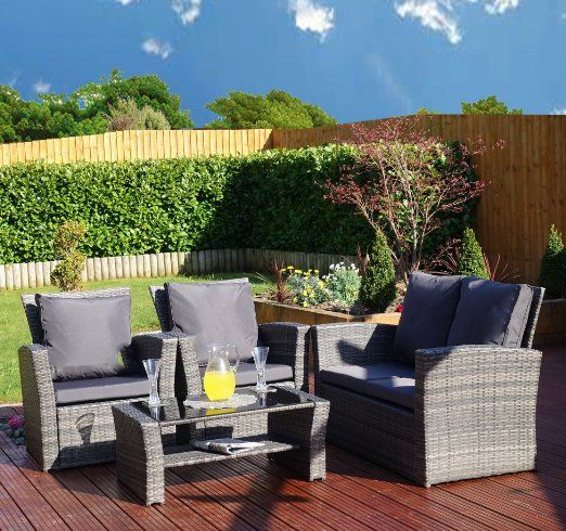 Garden Furniture Algarve New algarve rattan wicker weave garden furniture patio conservatory new algarve rattan wicker weave garden furniture patio conservatory sofa set includes outdoor protective cover workwithnaturefo