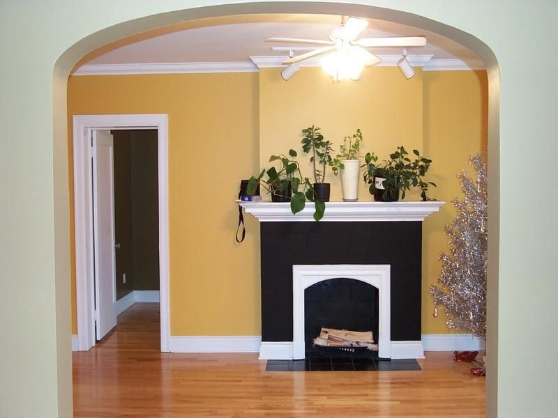 best house paint interior with yellow color http