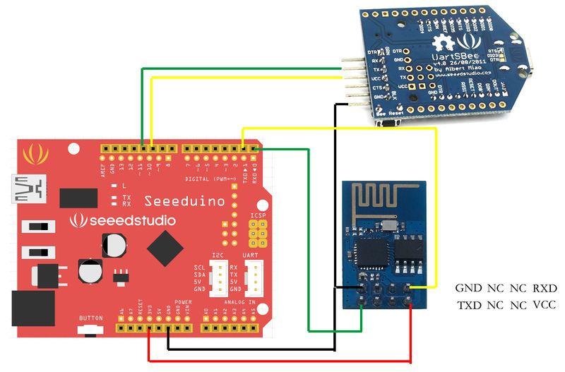 Tutorial For Esp8266 Serial Wifi Module Hackaday Io Arduino Wifi Wireless Networking